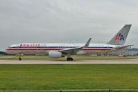N185AN @ EGCC - American Airlines 2001 Boeing 757-223, c/n: 32379