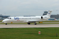 G-EMBJ @ EGCC - BMI 1999 Empresa Brasileira De Aeronautica Sa EMB-145EU, c/n: 145134 at Manchester UK
