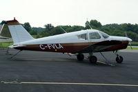 CF-VLA @ I19 - 1966 Piper PA-28-140 - by Allen M. Schultheiss