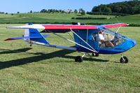N103HK @ 2D7 - Arriving at the Father's Day breakfast fly-in, Beach City, Ohio.