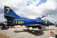158722 @ TIX - TA-4J Skyhawk - by Florida Metal
