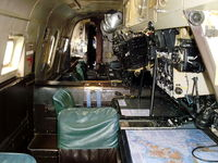 WR977 @ X4WT - looking aft inside the Avro Shackleton at the Newark Air Museum - by Chris Hall
