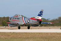 N86FR @ TIX - F-86F
