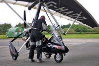 G-HADD @ EGCB - Microlight returns to City of Manchester base - by Terry Fletcher