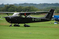 G-ATFY @ EGCB - 1965 Reims Aviation Sa CESSNA F172G, c/n: 0199 at City of Manchester Airfield