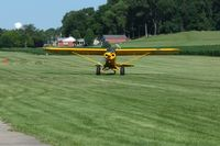 N1313 @ 2D7 - Arriving at the Father's Day breakfast fly-in, Beach City, Ohio. - by Bob Simmermon