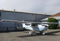 N7042E @ SZP - 1960 Cessna 175A SKYLARK, Continental GO-300-G 175Hp, geared engine with deeper cowl than a C172 - by Doug Robertson