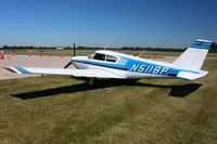 N5118P @ EDJ - Parked in the grass at Bellefontaine, Ohio during the 2010 air show. - by Bob Simmermon