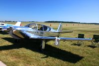 N78150 @ EDJ - Parked in the grass at Bellefontaine, Ohio during the 2010 air show. - by Bob Simmermon