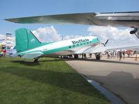 C-GPNR @ KOSH - Buffalo Airlines DC-3 - by steveowen