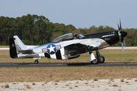 N51HY @ TIX - Quick Silver P-51D