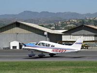 N16497 @ SZP - 1973 Piper PA-28-235 CHEROKEE CHARGER, Lycoming O-540-D4B5 235 Hp, takeoff roll Rwy 22 - by Doug Robertson