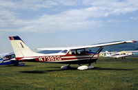 N7392G @ ELM - Cessna 172K Skyhawk II resident at Chemung County, as the airport was then known, in the Summer of 1976. - by Peter Nicholson