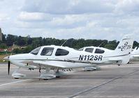 N112SR @ EGKA - Cirrus SR22 GTS at Shoreham airport - by Ingo Warnecke