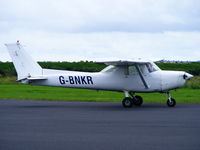 G-BNKR @ EGAD - Ulster Flying Club - by Chris Hall