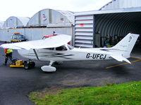 G-UFCJ @ EGAD - Ulster Flying Club Cessna 172S Skyhawk - by Chris Hall