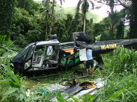 N141MK - Crashed in the Manoa Valley Honolulu, HI - by Jim