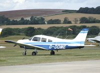 G-DOME @ EGKA - Piper PA-28-161 Warrior II at Shoreham airport