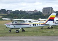 G-BTYT @ EGKA - Cessna 152 at Shoreham airport