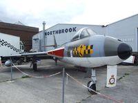 WT806 - Hawker Hunter GA11 preserved at Shoreham airport