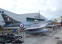 WT806 @ EGKA - Hawker Hunter GA11 preserved at Shoreham airport