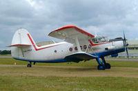 HA-MKF @ EGBP - Antonov An-2TP [1G233-43] Kemble~G 11/07/2004.