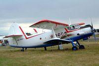 HA-MKF @ EGBP - Antonov An-2TP [1G233-43] Kemble~G 09/07/2004.