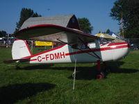 C-FDMH @ KOSH - Cessna 140 - by Mark Pasqualino