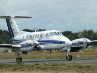 G-BGRE @ EGLK - MARTIN-BAKER SUPER KING AIR TAXYING TO RWY 25 - by BIKE PILOT