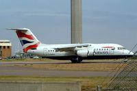 G-MIMA @ EGGW - BAe 146-200 [E2079] British Airways Luton~UK 28/08/2003