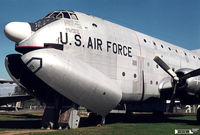 51-0119 @ KBDL - Bradley Air Museum -Old Route 75 location- Originally built as C-124A . Destroyed by tornado in Oct.1979 - by John Hevesi