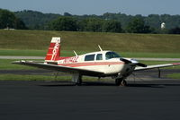 N1142Z @ I73 - 1981 Mooney M20J - by Allen M. Schultheiss