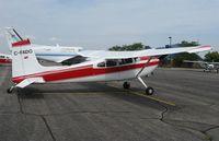 C-FADO @ KAXN - Cessna 180H Skywagon on the line. - by Kreg Anderson