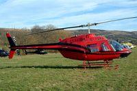 G-TGRZ @ EGBC - Bell 206B3 Jet Ranger III [2288] Tiger Helicopters Cheltenham Racecourse~G 16/03/2004.
