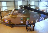 XP345 - Westland Whirlwind HAR10 at the AeroVenture, Doncaster