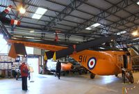 XA870 @ X3DT - Westland Whirlwind HAR1 at the AeroVenture, Doncaster