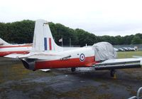 XM350 - Hunting Jet Provost T.3A at the AeroVenture, Doncaster