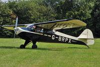 G-BRPX - 1945 Taylorcraft Aviation Corporation TAYLORCRAFT BC12D, c/n: 6462 at 2010 Stoke Golding Stakeout