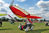 G-MLAW - Microlight at 2010 Stoke Golding Stakeout