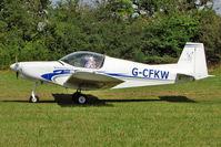 G-CFKW - Based 2008 Cavaciuti Fa PIONEER 200-M, c/n: LAA 334-14828 at 2010 Stoke Golding Stakeout