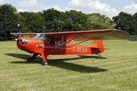 G-BEAH - 1946 Auster Aircraft Ltd AUSTER 5J2, c/n: 2366 at 2010 Stoke Golding Stakeout