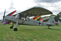 G-STCH - 1942 Fiesler Werke Gmbh FIESLER F156A-1, Storch c/n: 2088 - star visitor to 2010 Stoke Golding Stakeout