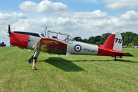 G-BVTX - 1952 De Havilland DHC-1 CHIPMUNK 22A, c/n: C1/0705 wears Serial WP809 at 2010 Stoke Golding Stakeout