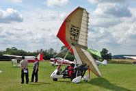 G-MZBY - 1996 Cyclone Airsports Ltd Trading As Pegasus Aviation PEGASUS QUANTUM 15, c/n: 7227 at 2010 Stoke Golding Stakeout