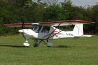 G-IKRS - 2001 Walton Pg IKARUS C42 FB UK, c/n: PFA 322-13719 at 2010 Stoke Golding Stakeout