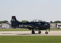 N128BC @ KOSH - North American T-28F - by Mark Pasqualino