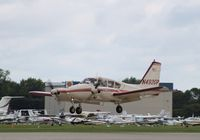 N4920P @ KOSH - Piper PA-23-235 - by Mark Pasqualino