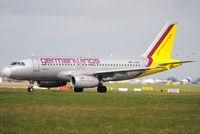 D-AGWB @ EIDW - GermanWings lining up r/w 28 - by Robert Kearney