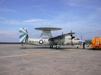 164497 - Grumman E2C Hawkeye parked on the transit flight line, Forrest Sherman Field NAS Pensacola FL. - by T.P. McManus