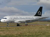 F-OHJX @ EINN - Ex-Brussels Airlines A319 parked up - by Robert Kearney